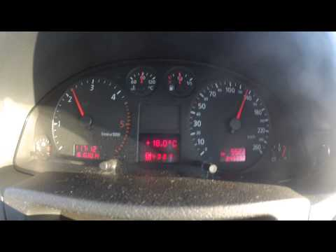 Audi A6 2.5 tdi Quattro V6 Tiptronic 40-150km/h Acceleration,Beschleunigung