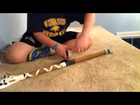 Lacrosse Taping: criss-cross