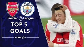 Top Five Premier League goals: Arsenal v. Manchester City | NBC Sports Video