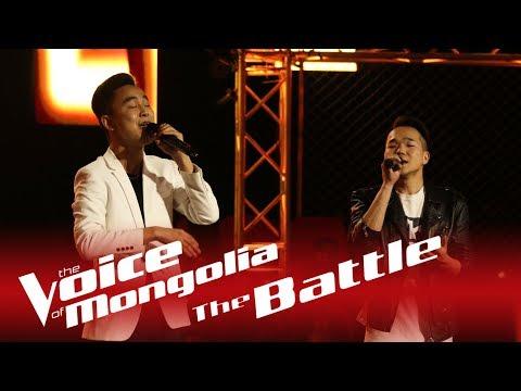 "Bilguun  vs. Munkhbayar - ""Nud chin hair haruulna"" - The Battle - The Voice of Mongolia 2018"