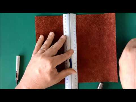 Making your own Midori-style Leather Traveler's Notebook