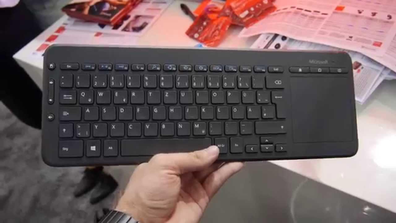 Microsoft All-in-One Media Keyboard im Hands On [Deutsch]