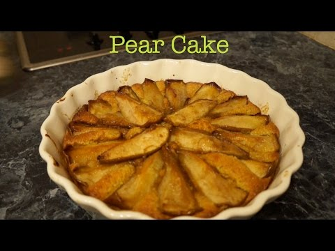 PEAR & ALMOND CAKE Recipe - TheCoolKitchen