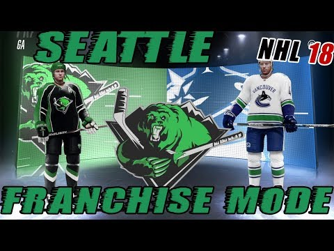 "NHL 18: Seattle Franchise Mode #14 ""PLAYOFFS!"""