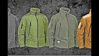 Обзор флисовой тактической куртки из Китая