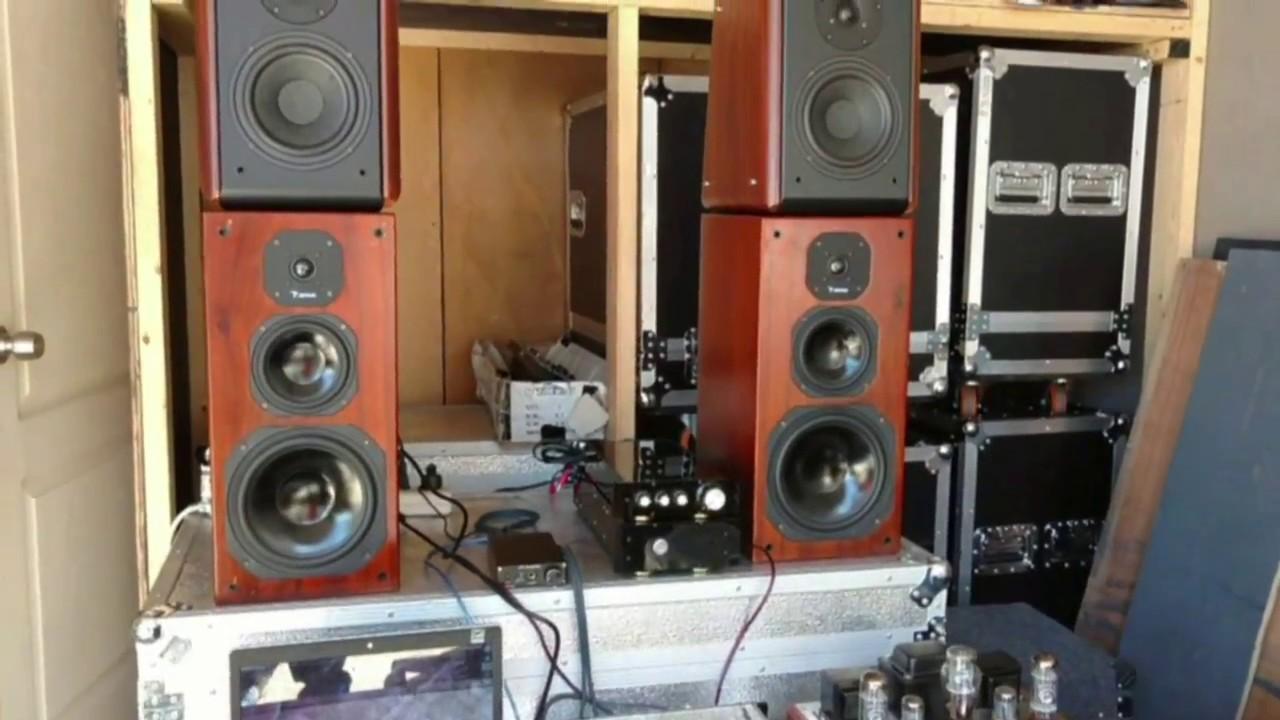 Class A, Class AB and Class D Amplifier Music Test (Last Christmas 2016)