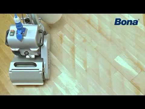 Video Der Parkettwalzenschleifer - Rentas Werkzeugvermietung