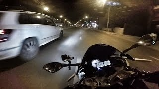 BMW S1000RR, Ducati 1199s Panigale и др. ГОНКИ по городу!