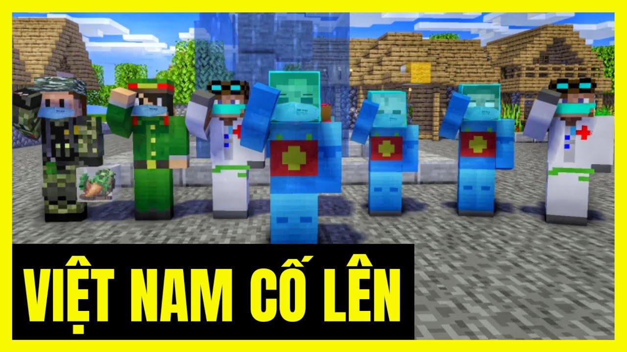 [ Lớp Học Quái Vật ] VIỆT NAM CỐ LÊN VƯỢT QUA COVID-19   Minecraft Animation