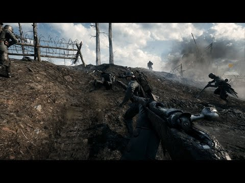 German Trench Assault (No Hud Immersion) - Battlefield 1