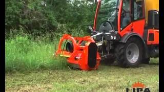 Lipa flail mower TLBR - reversible shredder
