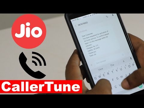 Reliance Jio - How To Activate Free Caller Tune Offer ?