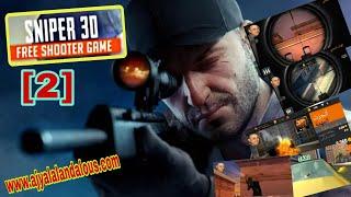 Sniper 3D Gun Shooter: Free Shooting Games - FPS Android Gameplay #2|افضل لعبة قناص