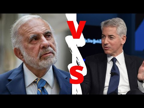 Billionaire Showdown: Bill Ackman vs. Carl Icahn (FULL INTERVIEW)