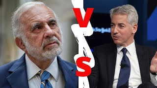 Billionaire Showdown: Bill Ackman vs. Carl Icahn (FULL INTERVIEW)