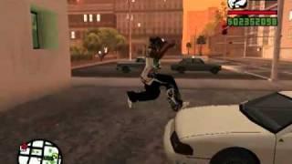 GTA San Andreas B-13 NFS: Паркур Карла