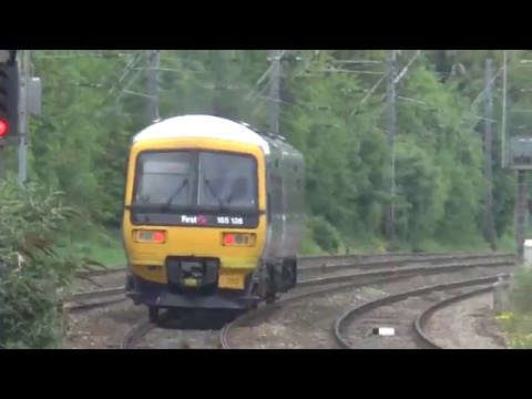 British Rail Acton Main Line London Passenger Trains May 2014