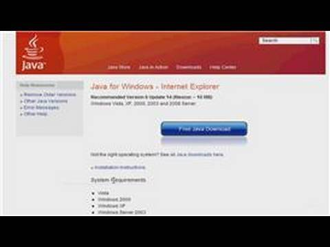 Windows XP : Troubleshooting Java For Windows XP