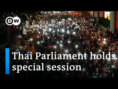 Thai opposition party calls for PM to resign amid protests | DW News