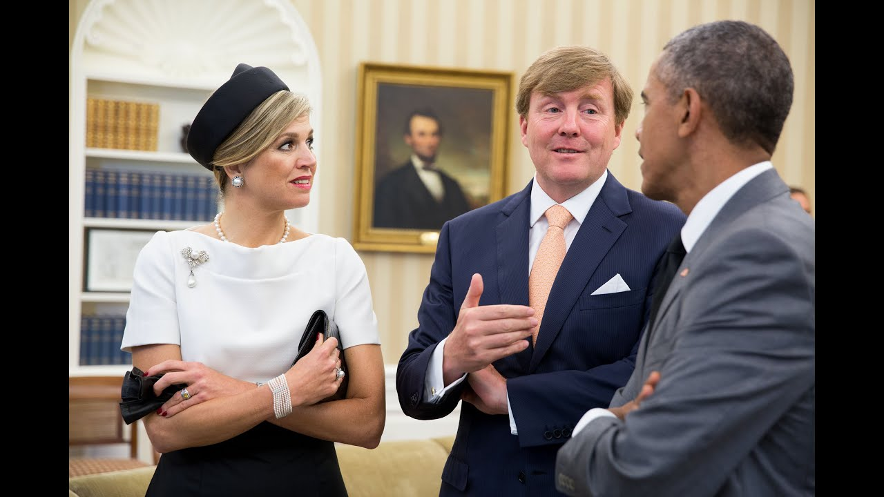 The President Meets with the King of the Netherlands - YouTube