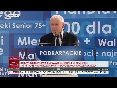 Jarosław Kaczyński – konwencja w Jasionce