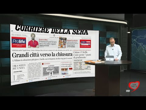 I giornali in edicola - la rassegna stampa 31/10/2020