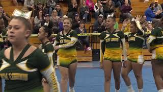 New London High School at 2019 ECC Cheerleading Championship