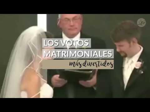 Los votos matrimoniales más divertidos