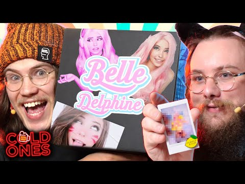 Belle Delphine Sent Us This Mystery Box! - Cold Ones