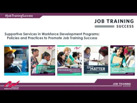 Supportive Services in Workforce Development Programs