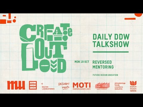 Create Out Loud #2, REVERSED MENTORING Future design education, MU Eindhoven, 19 10 2015