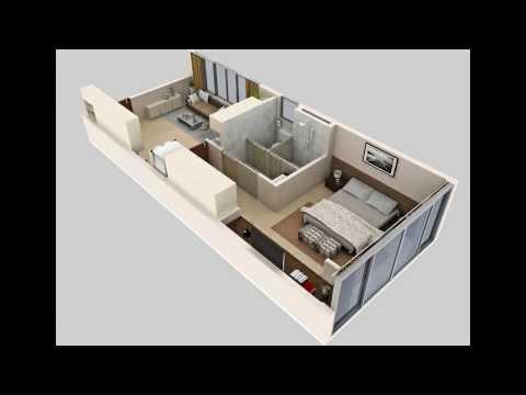 Floor plan 3d - video