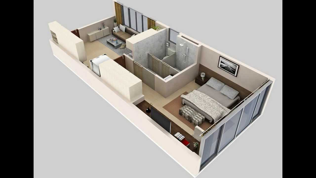 Floor plan 3d video youtube for In plan 3d