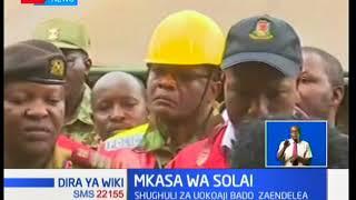 Gavana wa Nakuru Lee Kinyanjui aongoza viongozi katika sehemu ya mkasa wa Solai