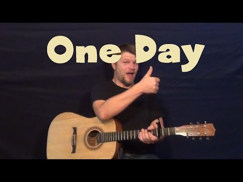 One Day (Matisyahu) Easy Guitar Lesson How to Play Tutorial