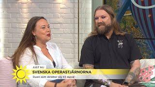 Från metoo till bajshumor - Rickard Söderberg i galen sommaroperett - Nyhetsmorgon (TV4)