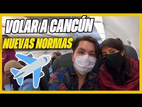 Cómo es VIAJAR A CANCÚN en avión | 🔴Guía de viaje y nuevas medidas de seguridad