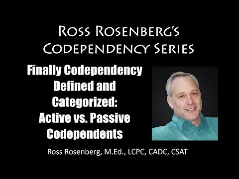 Codependents Can be Manipulative!   Understanding Active vs Passive Codependency Categories.  Expert