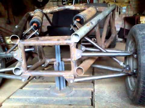 Ariel Atom Replica Part 3 Front Suspension Youtube