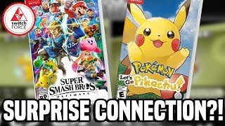 Smash Bros Ultimate Can Connect to Pokemon Let