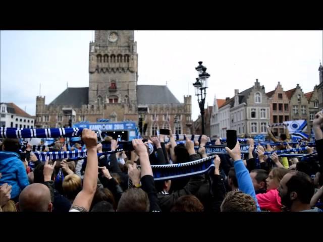 Kampioenviering Club Brugge 2016