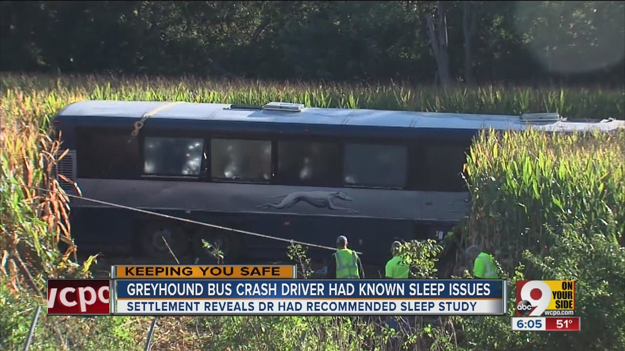 Driver In 2014 Greyhound Bus Crash Had Known Sleep Issues
