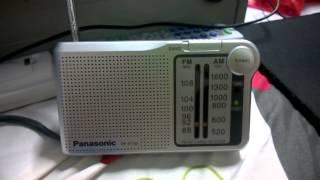 AM Lao National Radio receive by Panasonic RF-P150