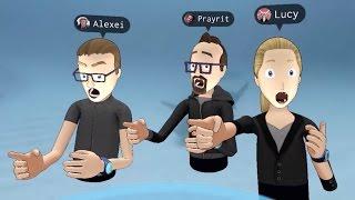 Facebook demos social augmented reality