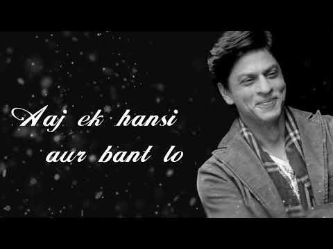 Inspirational Dialogue Of Shahrukh Khan |kal Ho Na Ho Movie Dialogue Whats App Status