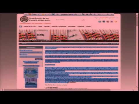 July 22, 2015 - Presentación Portal CIDH
