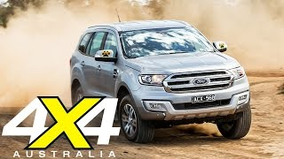 Ford Everest Trend | 4X4 Of The Year finalist 2015 | 4X4 Australia