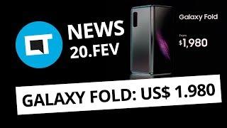 Galaxy Fold e S10 oficializados; Xiaomi Mi 9 por US$ 500 e + [CT News]