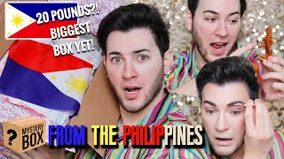 I PAID a FAN $300 TO MAKE ME A MAKEUP MYSTERY BOX... Philippines Edition!
