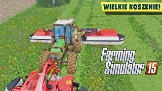 Koszenie trawy i plany na rozwój farmy #3 | Farming Simulator 2015